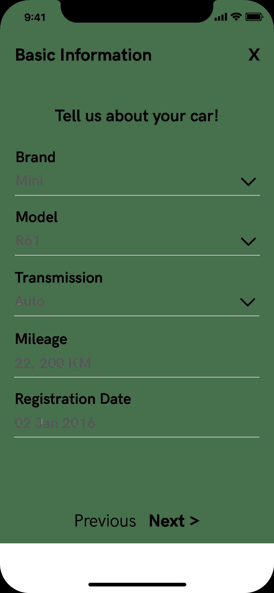 Add Listing Details